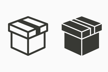 Gift box vector icons.