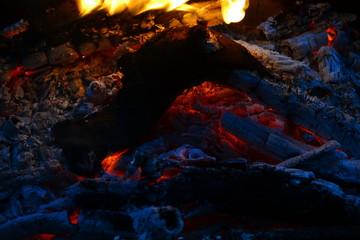 Flame, fire, burning, bonfire