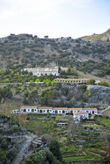 The village of Grazalema, white villages in Cadiz province, Andalusia, Spain