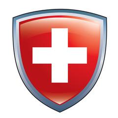 Swiss shield