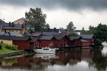 Cityscape of Porvoo, Finland