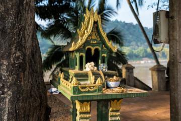 Laos - Luang Prabang - Am Mekong