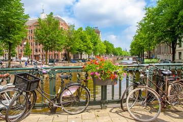 Amsterdam im Frühling