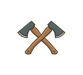 axe icon symbol design vector illustration