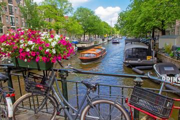 Spoed Fotobehang Amsterdam Schönes Amsterdam