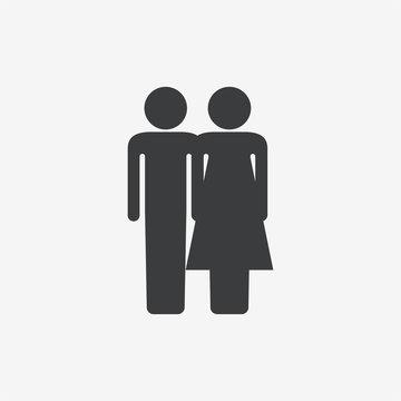 Couple Vector Icon