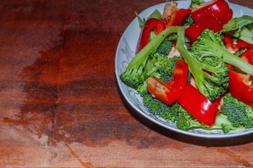 Capsicum annuum and Broccoli
