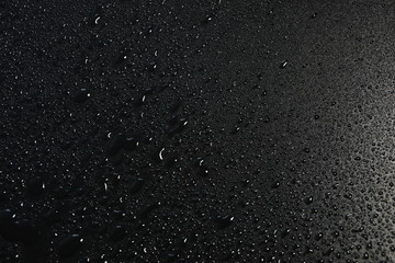 water drops on black background abstract texture background