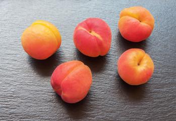 Sweet fresh peaches