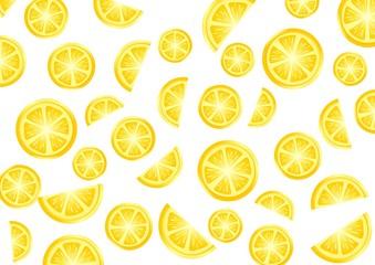Lemon and orange pattern