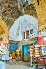 Interior of Kerman Sartasari Bazaar, Iran