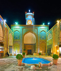 Ganjali Khan Mosque, Kerman, Iran