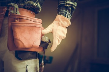 Construction Contractor Belt