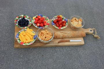 a summer lunch