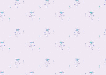 flower pattern background for fabric or textile