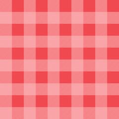 Checkered pink pattern.