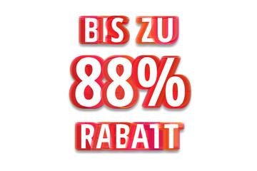 bis zu 88% Rabatt - weißer Hintergrund rote Schrift für Symbol / Schild