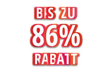 bis zu 86% Rabatt - weißer Hintergrund rote Schrift für Symbol / Schild