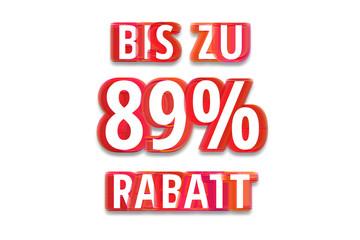 bis zu 89% Rabatt - weißer Hintergrund rote Schrift für Symbol / Schild