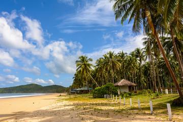 Nacpan Beach. El Nido Palawan, Philippines