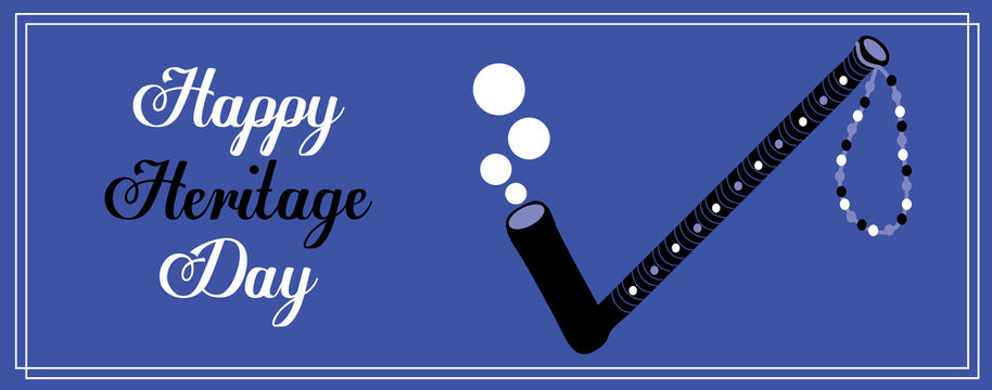 Happy Heritage Day Banner