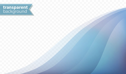 Abstract and Transparent Vector Business Background With Copy Space