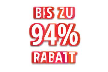 bis zu 94% Rabatt - weißer Hintergrund rote Schrift für Symbol / Schild