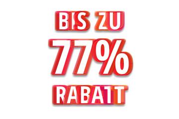 bis zu 77% Rabatt - weißer Hintergrund rote Schrift für Symbol / Schild