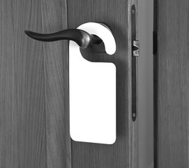 White Door Hanger