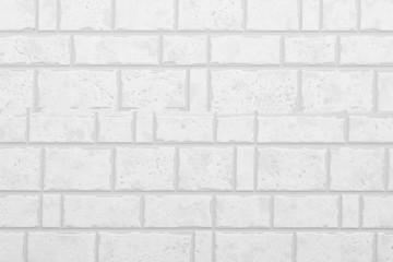 White modern stone tile wall background