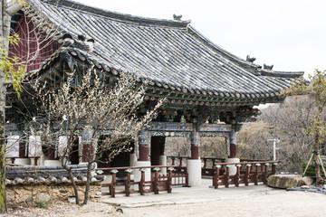 "Tempelanlage ""Beomeosa-Tempel"" in Busan."