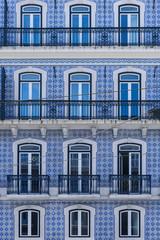 Immeuble pattern typique de Lisbonne