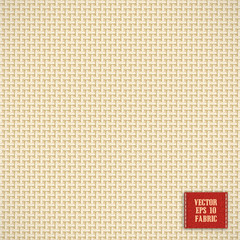 canvas jute fabric vector realistic
