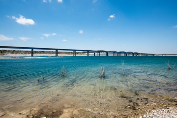 Bridge on US 90 near Amistad National Recreation Area