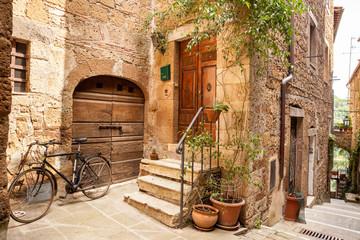 Fototapeta Pitigliano, Toscana, Italia, Borghi più belli d'Italia