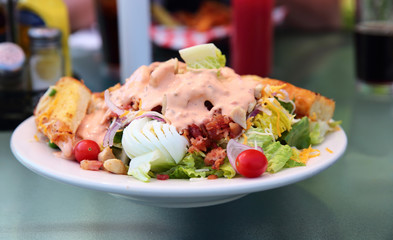 Chicken Louie with Thousand Island Dressing