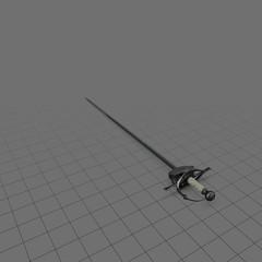 Medieval rapier sword