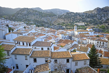 Grazalema, route of the white villages, Cadiz province, Andalusia, Spain
