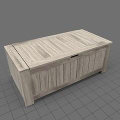 Mid century modern chest