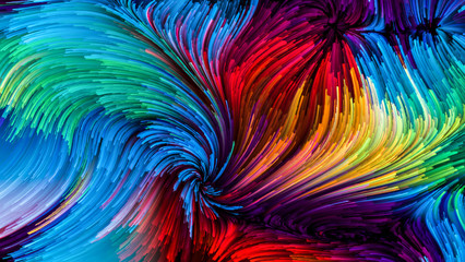 Digital Colorful Paint