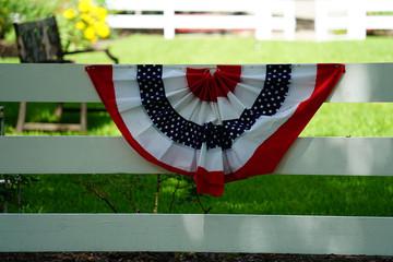 Flag on Fence