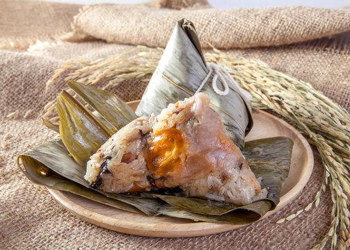 bazhang chinese dumplings, zongzi