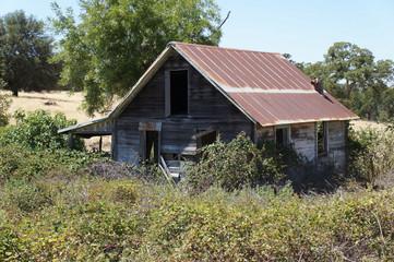 dilapidated building barn
