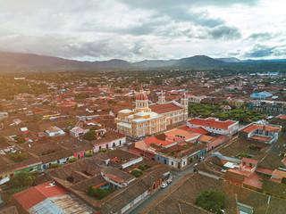 Sunny day in Granada town