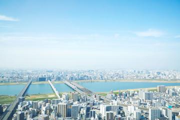 Fotomurales - 都市風景 大阪市
