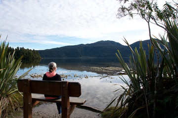 Lake Kaniere, Hokitika, West Coast, New Zealand