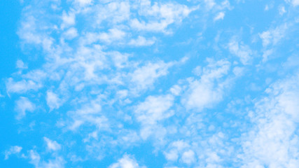 blue sky with clouds nature wallpaper background