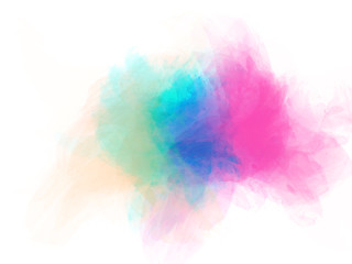 Abstract beautiful Colorful watercolor painting background.