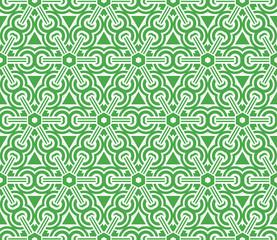 creative geometric ornament. seamless vector illustration. design for fashion, interior, textile