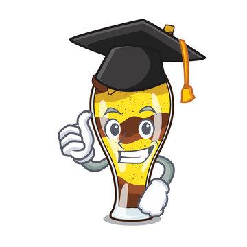 Graduation mangonada fruit character cartoon
